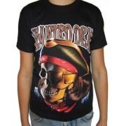 Koszulka rockowa Czaszka - WANTED DEAD