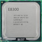 Intel Core2 Duo Processor E8300 (6M Cache 2.83 GHz 1333 MHz FSB)