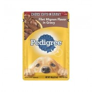 Pedigree Choice Cuts Filet Mignon Flavor in Gravy Wet Dog Food, 3.5-oz, case of 16