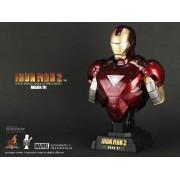 Hot Toys Iron Man 2 1/4 Scale Collectible Bust Iron Man Mark VI