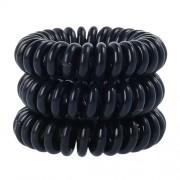Invisibobble Power Hair Ring Gumičky do vlasov pro ženy Gumičky do vlasů Odtieň - True Black