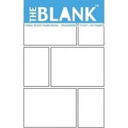 The Blank Comic Book Panelbook - Staggered, 7x10, 127 Pages by About Comics