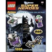 DC Universe Super Heroes Lego Batman Ultimate Sticker Collection by Emma Grange