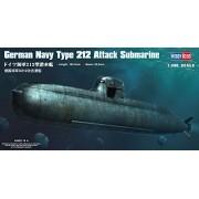 Hobby Boss German Navy Type 212 Attack Submarine Boat Model Building Kit by Hobby Boss