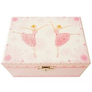 "Lily & Ally / Flower Ballerina Musical Jewelry Box, with Melody of ""Waltz of the Flowers / the Nutcr"