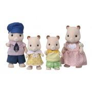 "Epoch Sylvanian Sylvanian Families Family Doll ""Fs-20 Family of Hamster"""