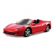 Ferrari 458 Spider - rosu - 1:43 Race & Play