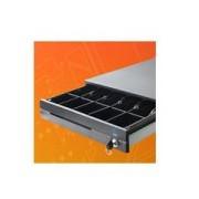 CAJON DE DINERO EC LINE ELEGANCE EC-CD-100M-II-G, NEGRO, COMPARTIMIENTOS BILLETES 5 / MONEDAS 7