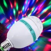 Disco žiarovka so svetelnými efektami väčšia