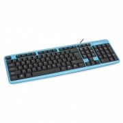 Tastatura Cu Fir Omega OK-11 USB Albastru