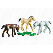 Playmobil 3 FOALS WITH FEED #6263 by PLAYMOBILÃ'®