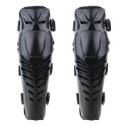 Motorcycle Motorbike Racing Motocross Knee Pads Protector Guards Protective Gear Black