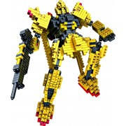 mini-lego* mini Fighting Robot Nanoblock