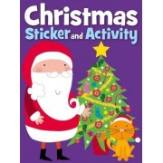Christmas Sticker Activity -Night Before Christmas by Carly Blake