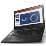 Лаптоп Lenovo Thinkpad T560 Intel Core i7-6600U (2.6GHz up to 3.4GHz, 4MB), 8GB 1600MHz DDR3L, SSD 256GB, 15.6 инча 20FH0036BM
