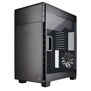Corsair Carbide Clear 600C CC-9011079-WW Case da Gaming per PC, ATX Invertito, Finestra Laterale, Nero