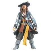 Zizzle Pirates of the Caribbean Dead Mans Chest 3 3/4 Inch Action Figure Series 2 Captain Barbossa