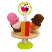 Hape Playfully Delicious Ice Cream Treats, Multi Color