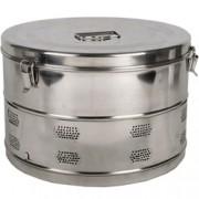 cestello inox drum diam. 340x240mm