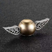 Harry Potter Golden Quinch Snitch New Designs Full Metal Hand Wind Spinner Stress Reducer Anti Anxiety for Children / Adults - Smart Buy (Gold : Design 1)