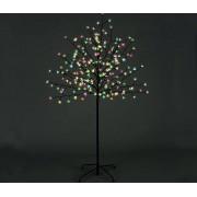Cseresznyefa világító LED virágokkal színes 120cm