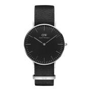 Daniel Wellington Classic Black Cornwall horloge (36 MM) DW00100151
