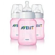 Avent 9 Oz. 5-pack Bottles (Pink)
