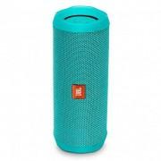 Caixa De Som Bluetooth JBL Flip 4 Verde Água