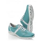 Walbusch Hirschleder Sneaker Blau 42