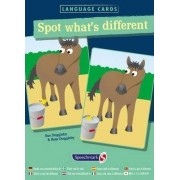 Spot What's Different Language Cards by Sue Duggleby