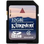 Card Kingston SDHC 32GB (Class 4)