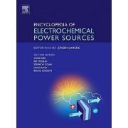 Encyclopedia of Electrochemical Power Sources by Professor Jurgen Garche