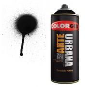 Spray Colorgin Arte Urbana 400ml Preto