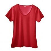 SunSelect®-Shirt, 42/44 - Rot - V-Shirt, Damen