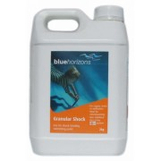 Blue Horizons Granular Shock Chlorine 2kg - Highly Concentrated Chlorine Granules