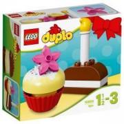 Конструктор ЛЕГО ДУПЛО - Моите първи сладкиши, LEGO DUPLO, 10850