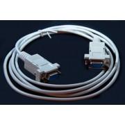 Nullmodemkabel - DB-9/f - DB-9/f -2,0 m