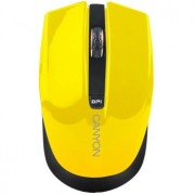 MOUSE CANYON CNS-CMSW5 WIRELESS OPTICAL USB YELLOW