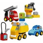 Mine første biler og lastbiler (Lego 10816 Byggeklodser)