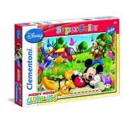 Clementoni 24728 - Mickey Mouse Clubhouse Puzzle, 2x20 Pezzi