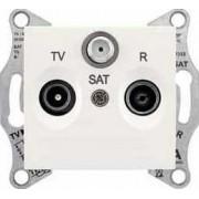 SEDNA TV-R-SAT aljzat átmenő 8 db IP20 Krém SDN3501223 - Schneider Electric