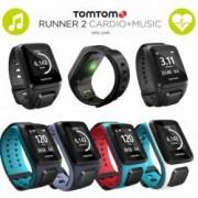 TomTom Runner 2 Cardio + Music GPS-Sportuhr Größe S (121-175 mm) schwarz/anthrazit