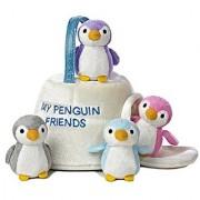 Aurora World Baby Talk My Penguin Friends Carrier Plush 9
