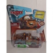 DISNEY PIXAR MOVIE CARS CHASE MATER #130 WITH MOVING EYES AND COMES WITH OIL CAN by Disney