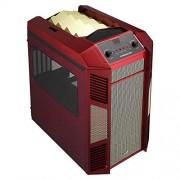 Cube Aerocool Xpredator logement Micro-ATX - rouge/doré