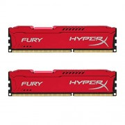 HyperX Fury HX316C10FRK2/16 Mémoire RAM 16Go 1600MHz DDR3 CL10 DIMM Kit (2x8Go) Rouge