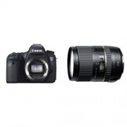 Canon EOS 6D Body Fotocamera Reflex Digitale 20.2 Megapixel, Nero + Tamron AF 16 - 300mm F/3.5 - 6.3 Di II VC PZD Obiettivo Ultra-Zoom e Macro per APS-C