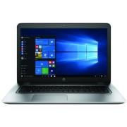 """Laptop HP ProBook 470 G4 (Procesor Intel® Core™ i5-7200U (3M Cache, up to 3.10 GHz), Kaby Lake, 17.3""""HD, 8GB, 1TB HDD @5400RPM + 256GB SSD, nVidia GeForce 930MX@2GB, Wireless AC, FPR, Win10 Pro, Argintiu) + Jucarie Fidget Spinner OEM, plastic (Albastru)"""