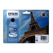 Epson T7021 Patron Black 2,4K (Eredeti) WorkForce Pro 4015, 4095, 4525 nyomtatókhoz, EPSON fekete, 45,2 ml