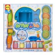 Cuckoo Alex Rub-a-Dub Artist in the Tub Bath Toy
